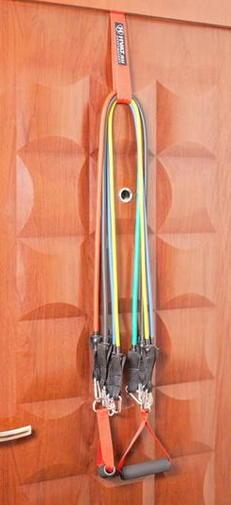 Трубчатый эспандер для накачки попы