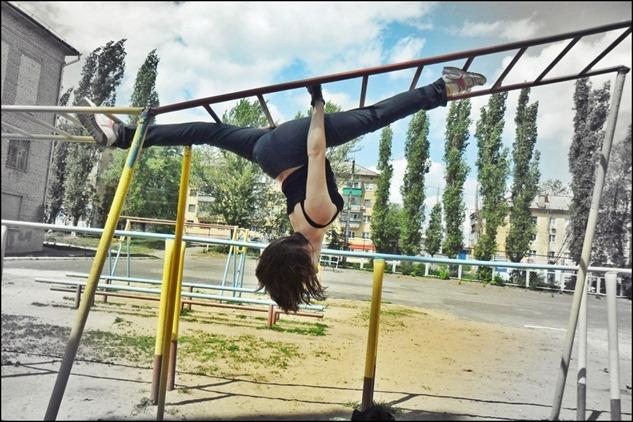 Фото спортивной девушки