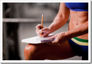 Тренировочный дневник в бодибилдинге