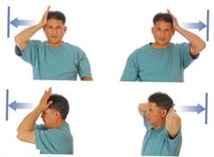 Упражнения для укрепления шеи мышц