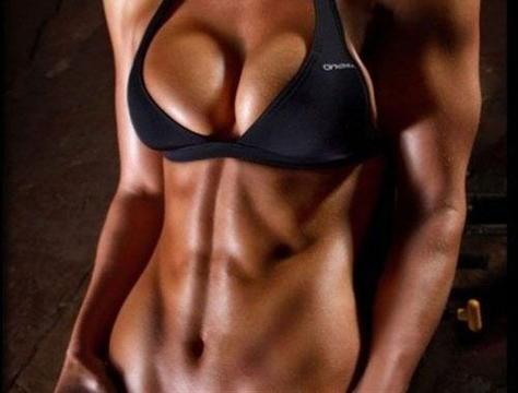 Сушка мышц для женщин фото