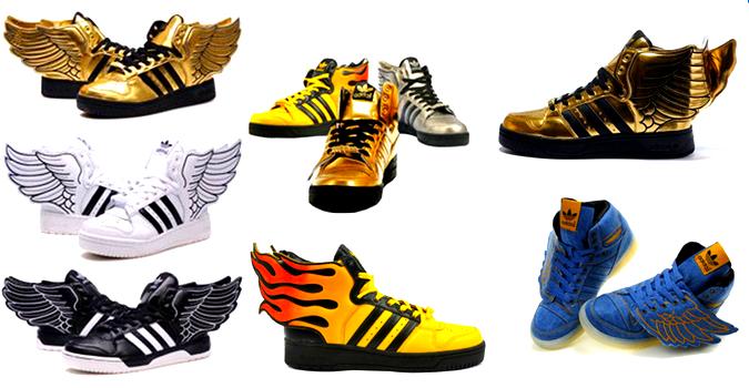 a0a2bd973c5b Кроссовки Adidas с крыльям