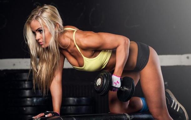 Женский бодибилдинг фото