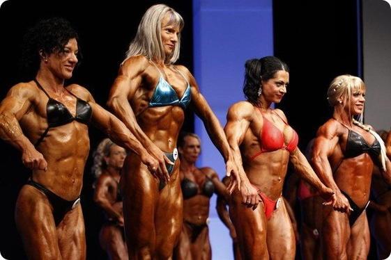 Женский бодибилдинг и мужские гормоны