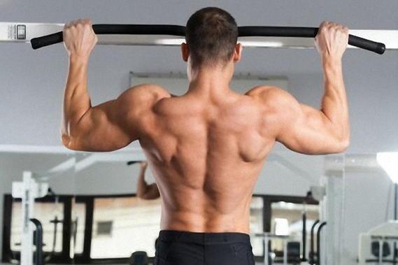 Подтягивания для накачки спины