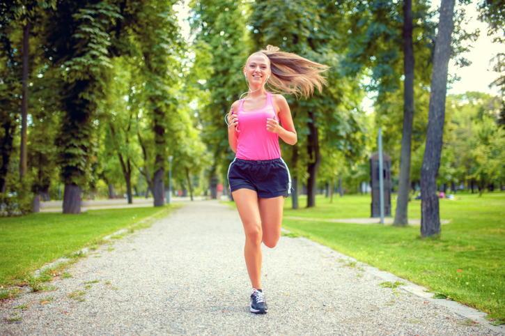 Длительный бег в легком темпе
