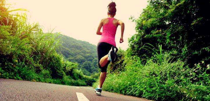 Фитнес упражнение бег