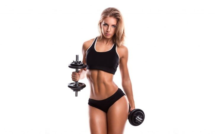 Fitness exercises for girls