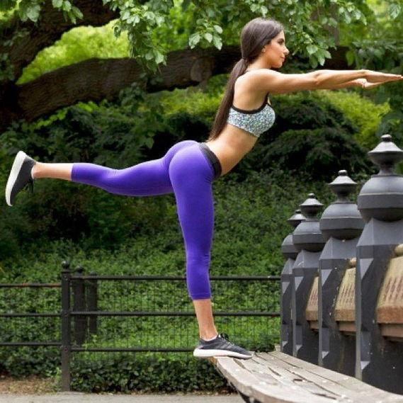 Фитнес в парке