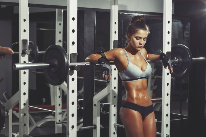 Фитнес в спортзале