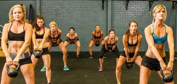 Кроссфит женские тренировки