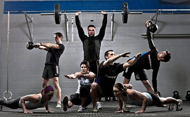 Круговая тренировка в единоборствах