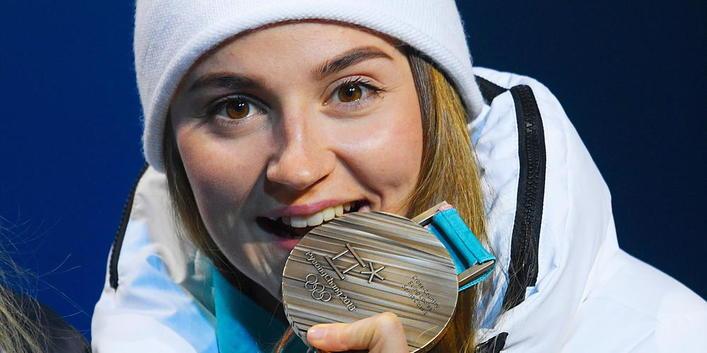 Лыжные гонки Юлия Белорукова