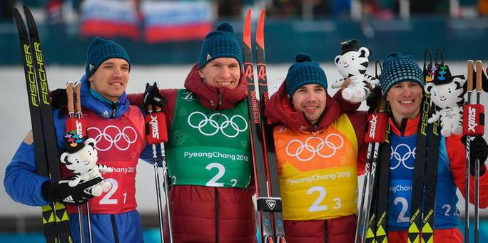 Лыжные гонки эстафета фото