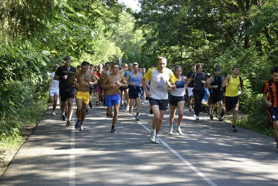 Народный спорт бег