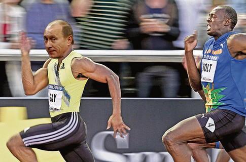 Не сбежать повсюду Путин