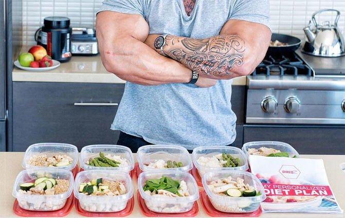 Питание бойца для похудения