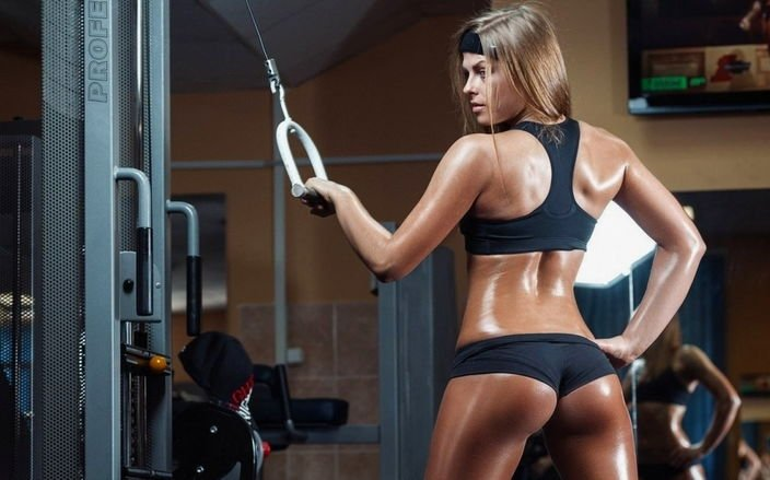 Fitness use in the gym