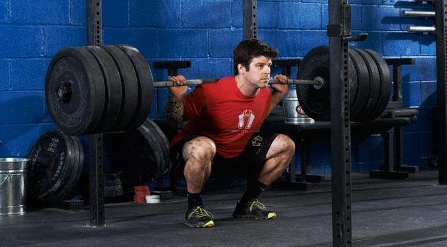 Crossfit strength training