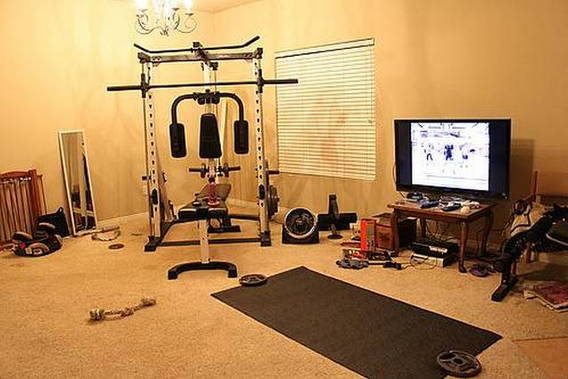 Спортивное снаряжение для дома