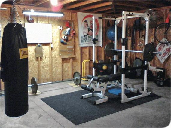 Спортивное снаряжение для тренировок дома