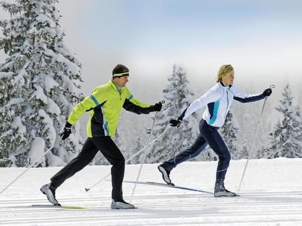 Спортивный отдых на лыжах