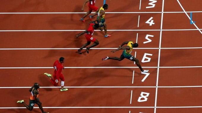 Спринтерский бег на 100 метров