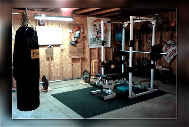 Тренировка бойца в домашних условиях