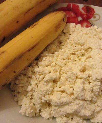 Творог и бананы в бодибилдинге
