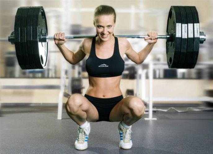 Тяжелая атлетика девушки
