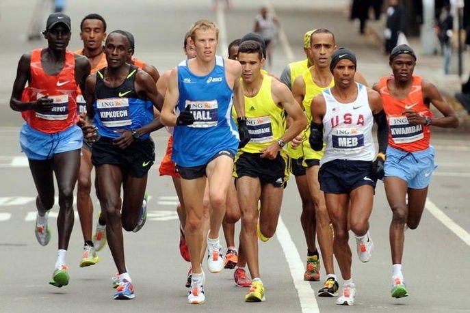Виды бега марафонский бег