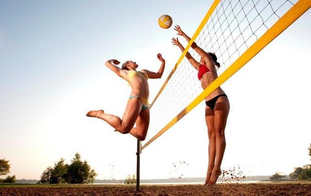 Волейбол как активный отдых