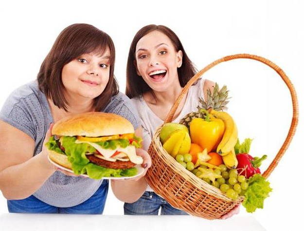 Вредное и полезное питание